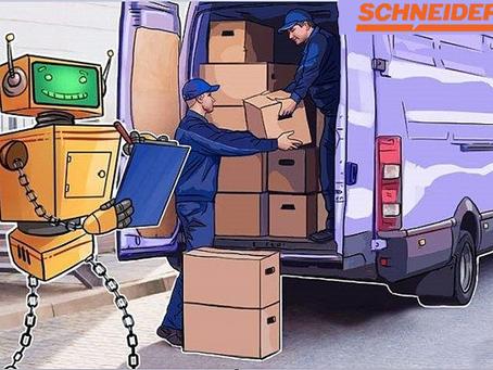 交通運輸及物流公司Schneider加入全球貨運區塊鏈聯盟加速區塊鏈技術應用
