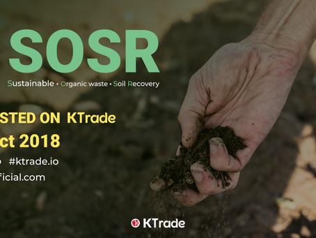 KTrade開放 SOSR(SOSR COIN)交易