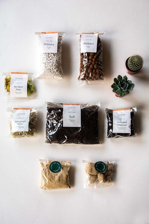 (Small) Mixed Terrarium Kit