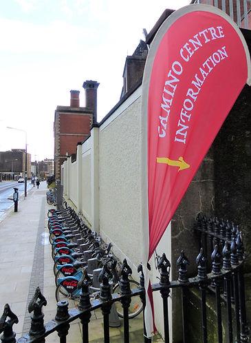 Camino Society Office next to bikes