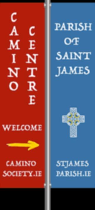 Camino Society St James banners