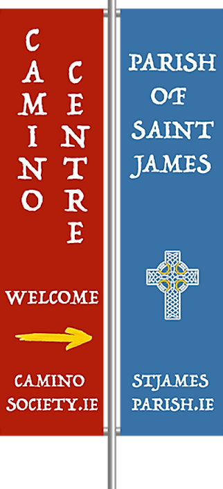 Camino Society St James banners