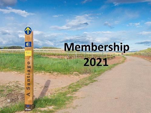 Society Membership 2021