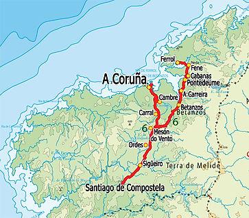 Celtic Camino - A Coruna to Santiago de Compostela