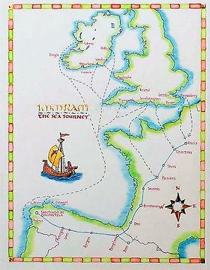 Book of Pilgrims maps