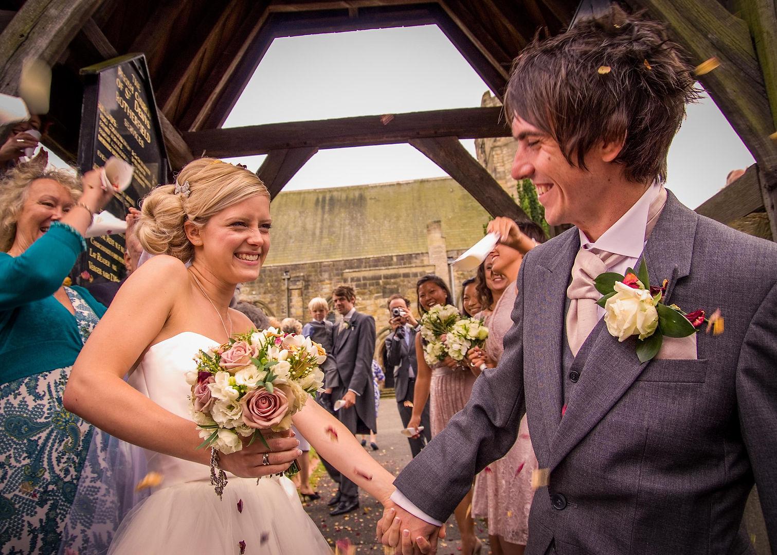 Rotherfield Church Wedding photography