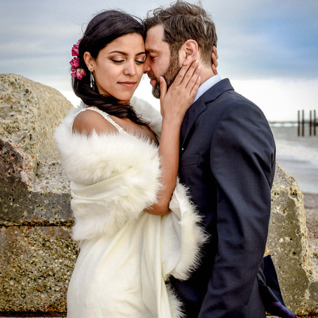 A Beautiful, Socially Distanced Brighton Wedding!