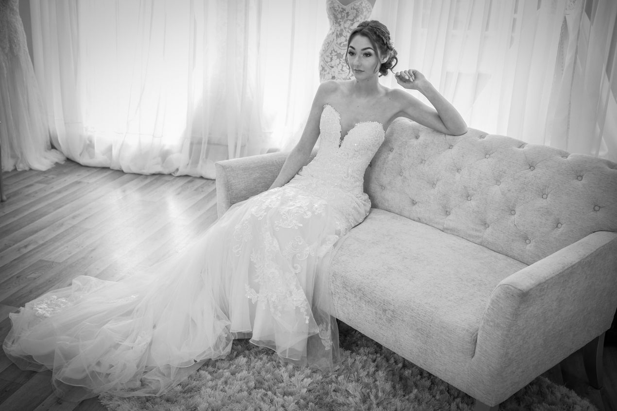Wedding gown photography, Fross Bridal Uckfield