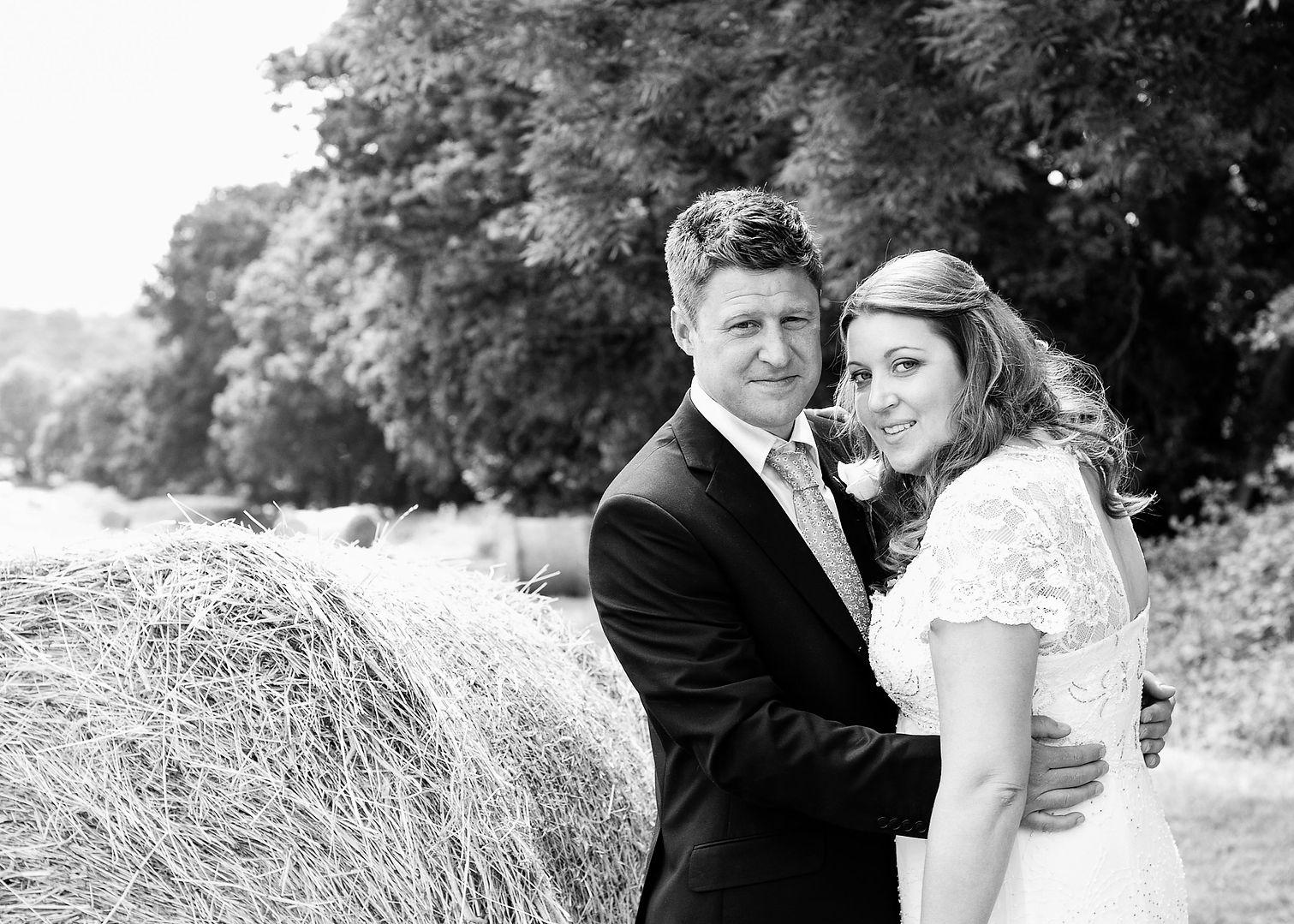 Hay Bales Wedding photography