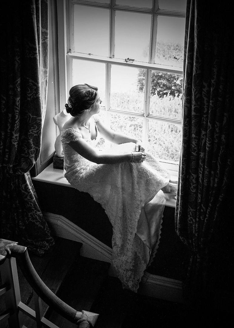 Bridal Preparation shot at Spivers Manor