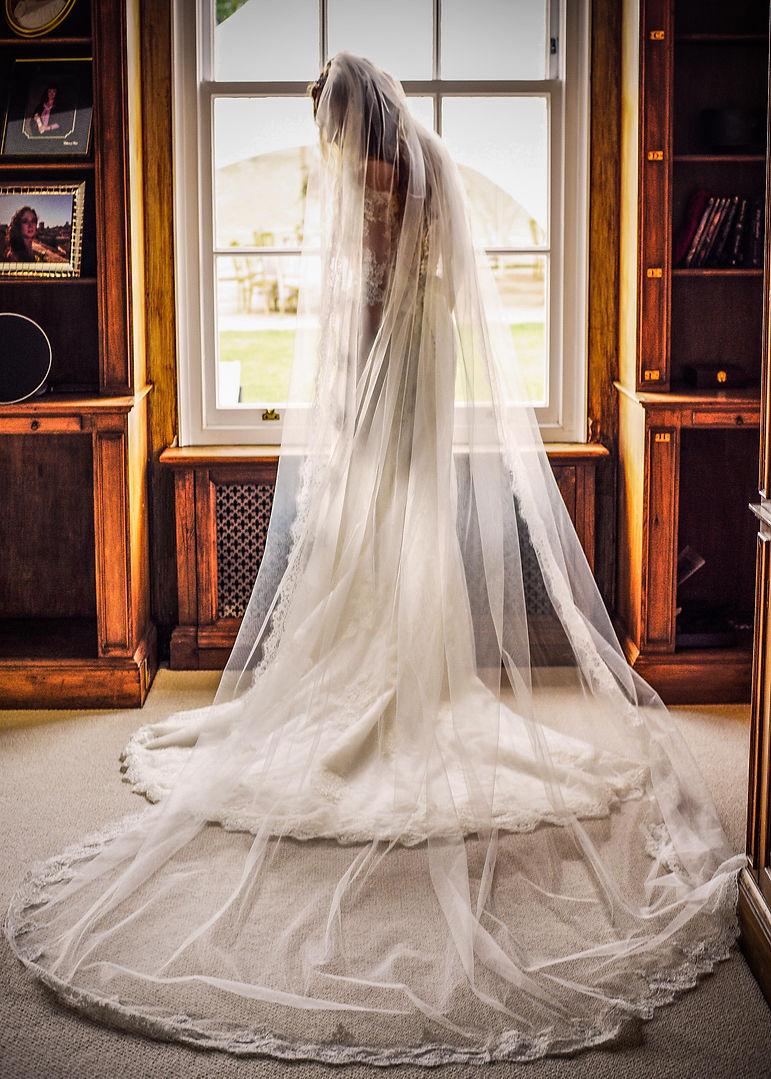 Bridal perparation shot, Lamberhurst