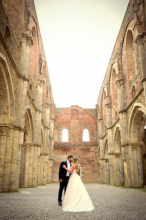San Galgano Abbey wedding photography