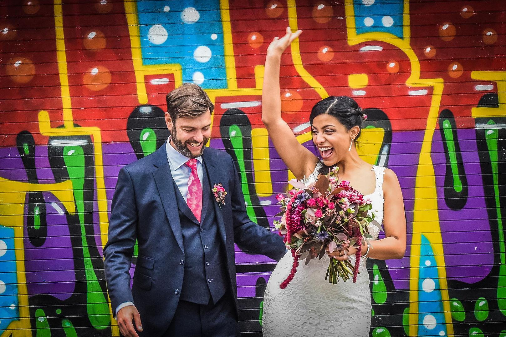Wedding Photography Grafitti