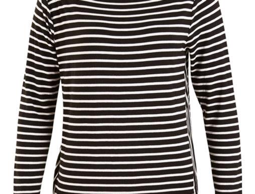 Threadz Stripe Skivvy Top