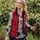 Thumbnail: Yarra Trail Navy/Ruby Reversible Vest