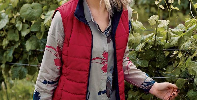 Yarra Trail Navy/Ruby Reversible Vest