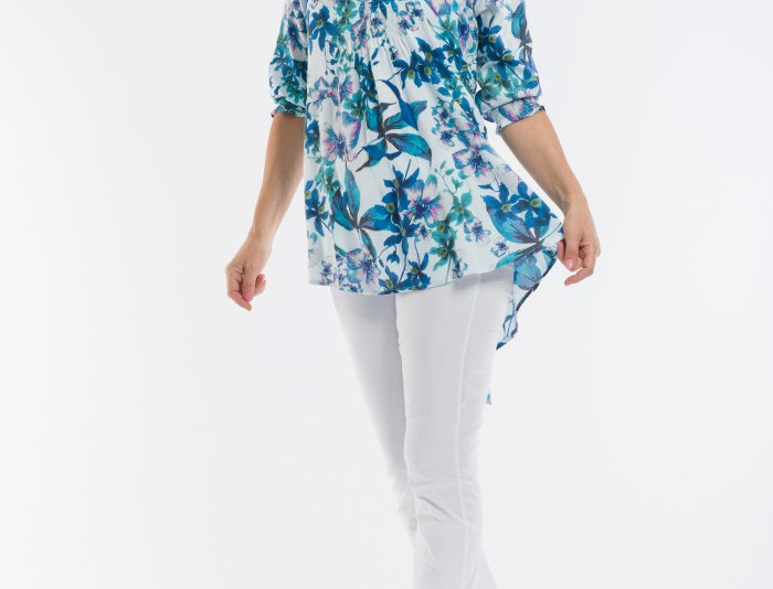 Orientique Auguste Print Tunic