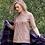 Thumbnail: Yarra Trail Tea Rose Cable Sweater