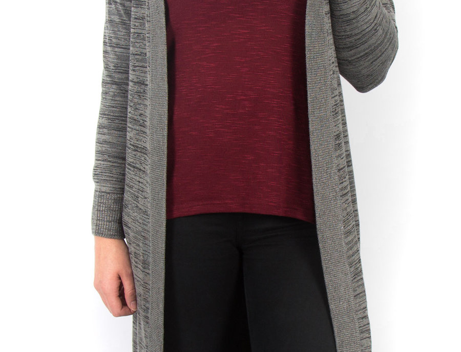 Ice Express Long Knit Cardigan