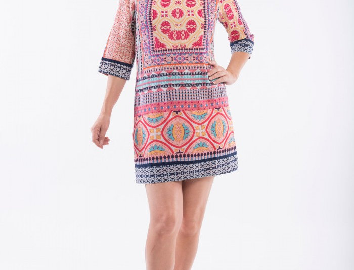 Orientique Olympia Shift Dress