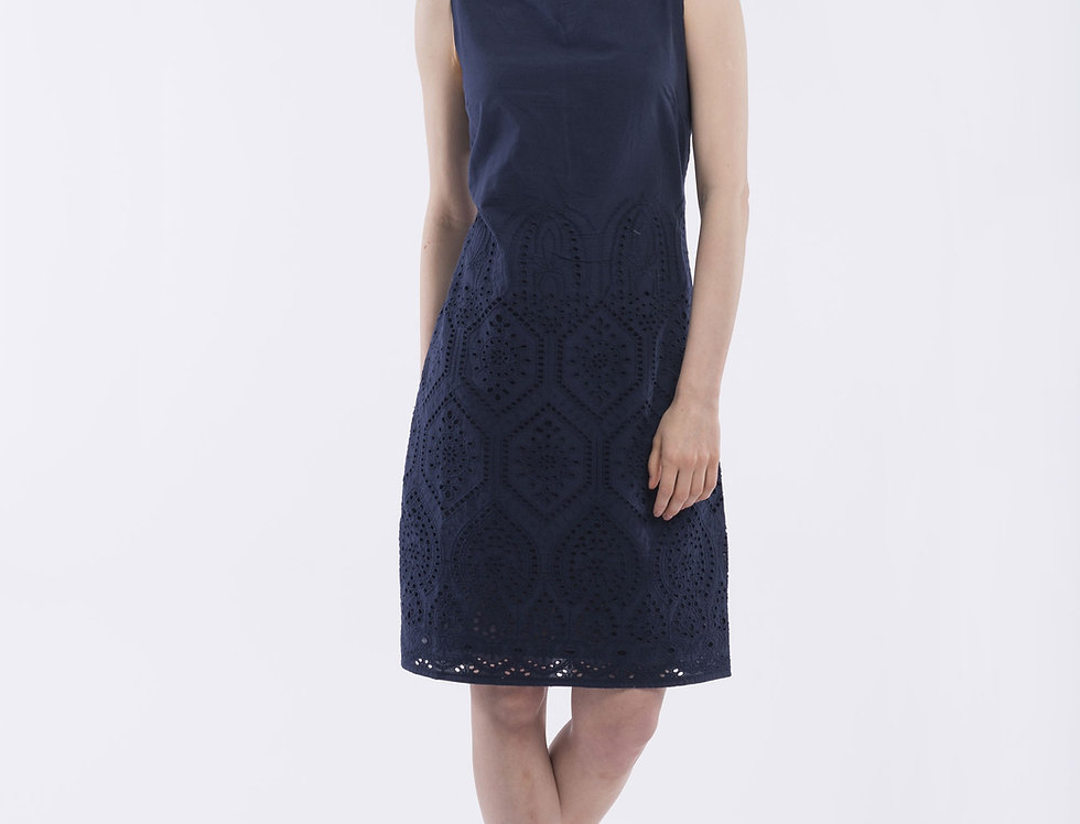 Orientique Embroidery Dress