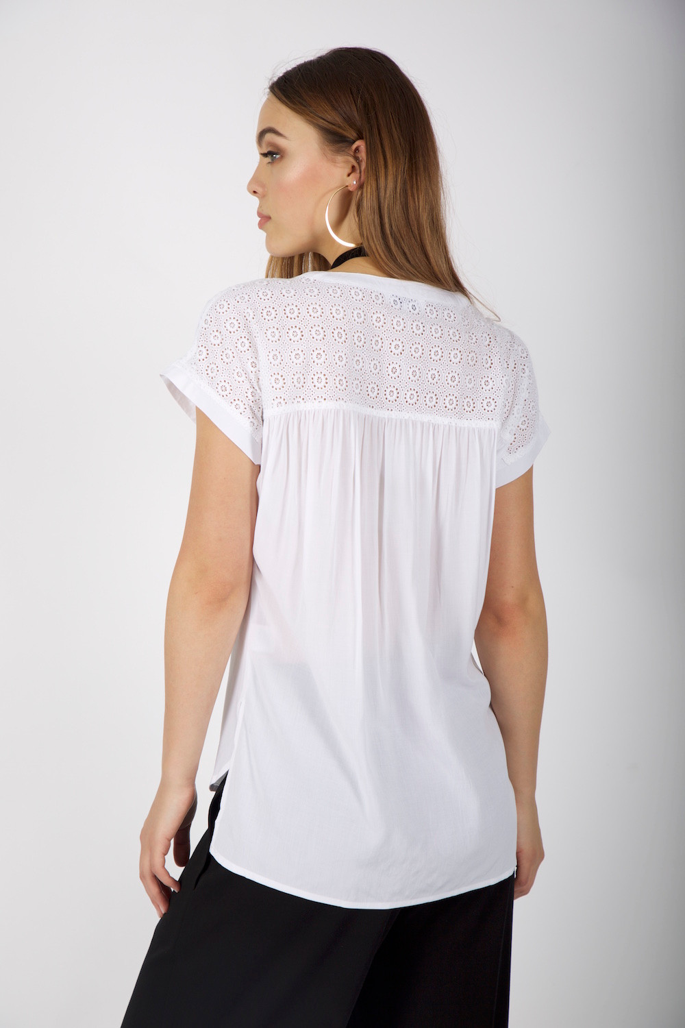 Ice Express Laced Top