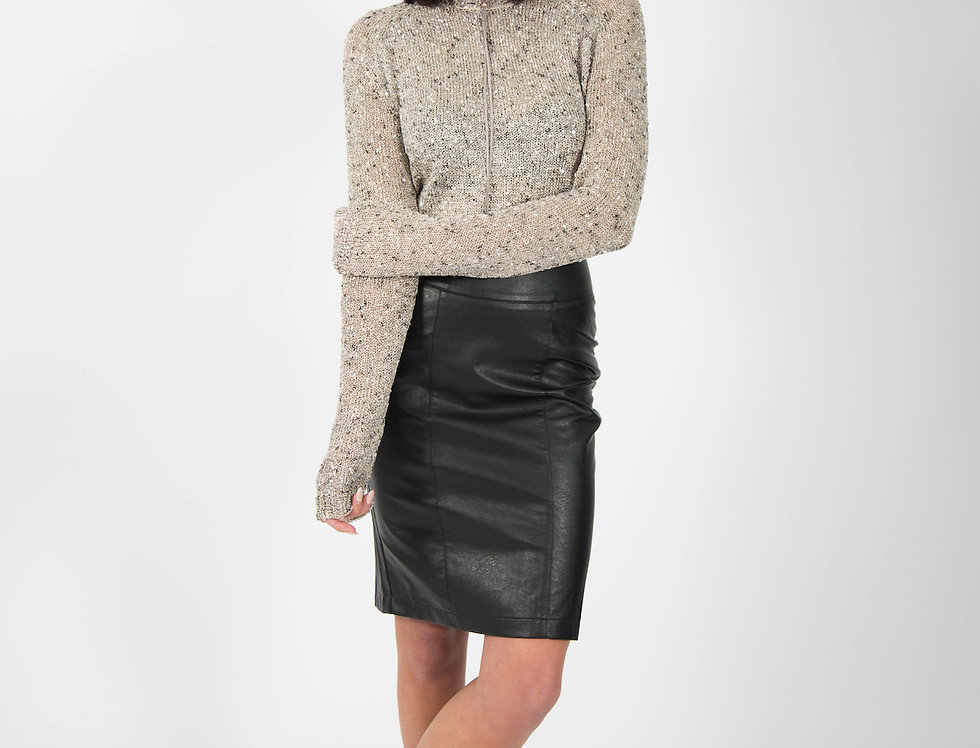 Ice Express Sequin High Lo Jumper