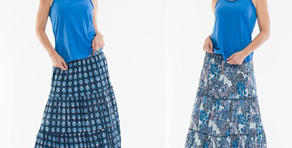 Orientique El Greco Reversible Skirt