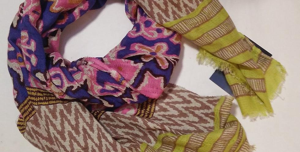 Multi Colour Cotton Scarf