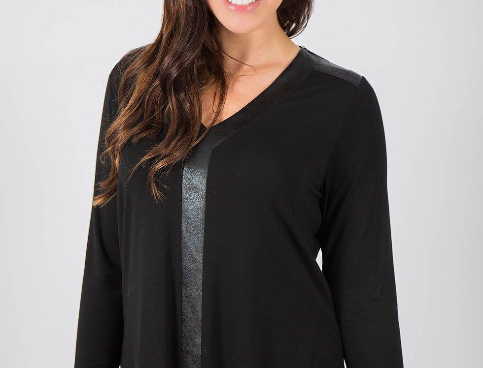 Black Plum Basic Top