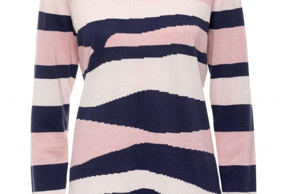Yarra Trail Intarsia Knit Sweater