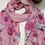 Thumbnail: Tulip Pink Wool Scarf
