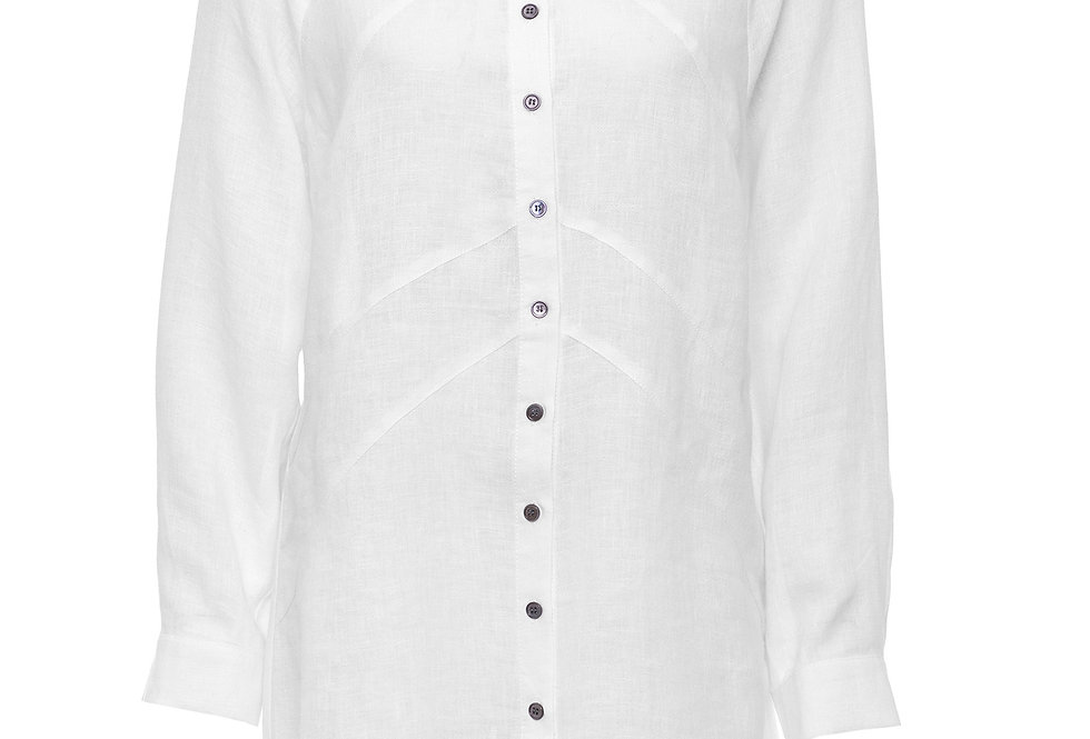 Yarra Trail Panelled White Shirt