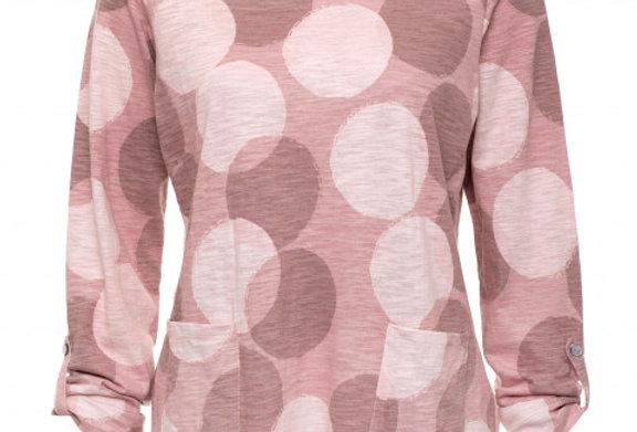 Yarra Trail Dusty Pink Soft Spot Print Tee