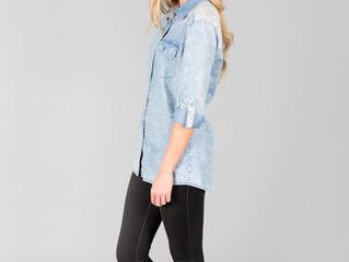 Denim Shirt- Ideal layering piece