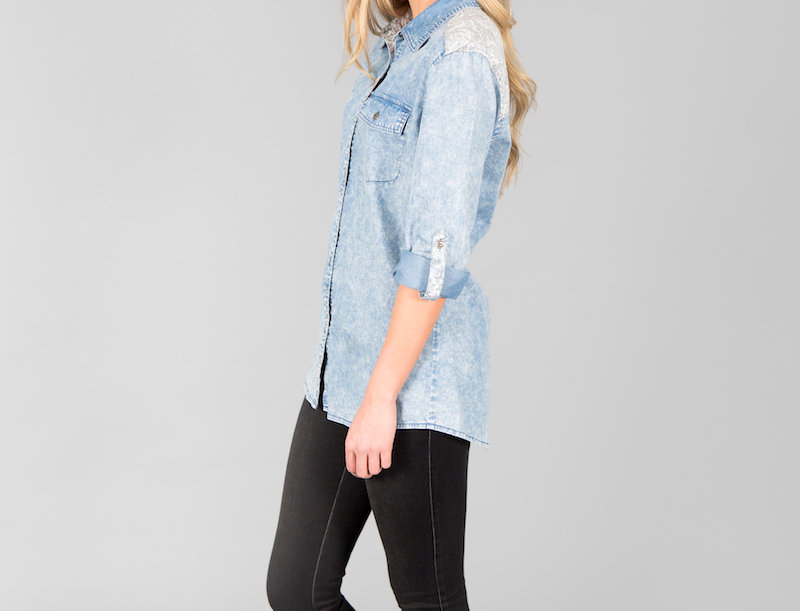 Ice Express Chambray Shirt