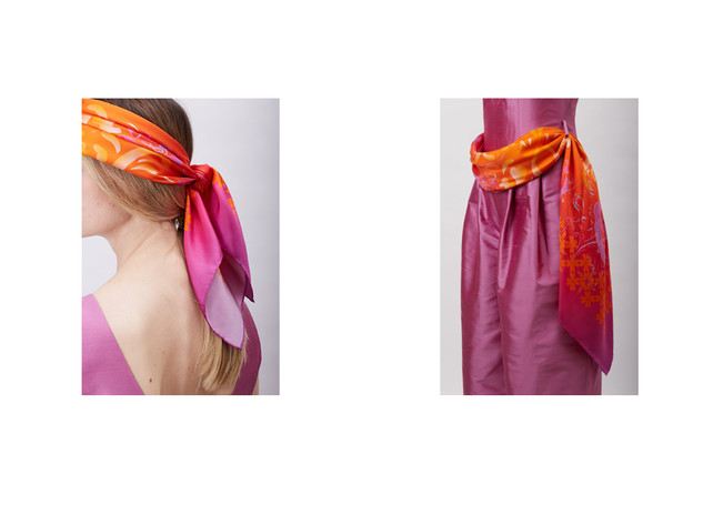Luan by Lucia Soul Couture Kendő Scarf