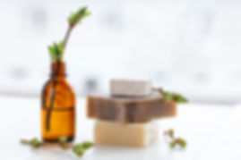 Organic Soap and Oil Bottle