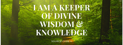 I AM A KEEPER OF DIVINE WISDOM AND KNOWL