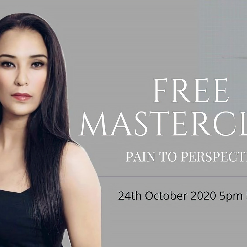 FREE MASTERCLASS - From Pain to Perspective
