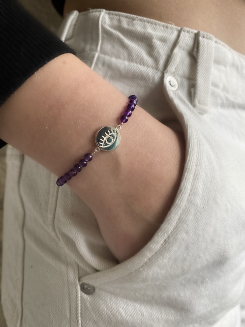 Bracelet Améthyste