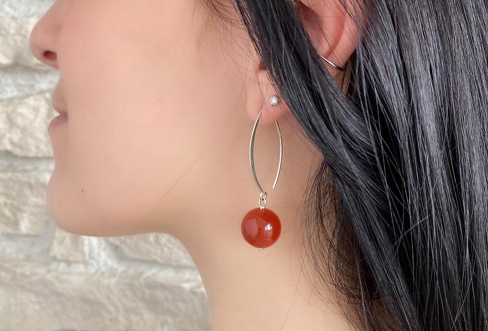 Boucles d'oreilles Dormeuses Argent