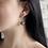 Thumbnail: Boucles d'oreilles Quartz fumé