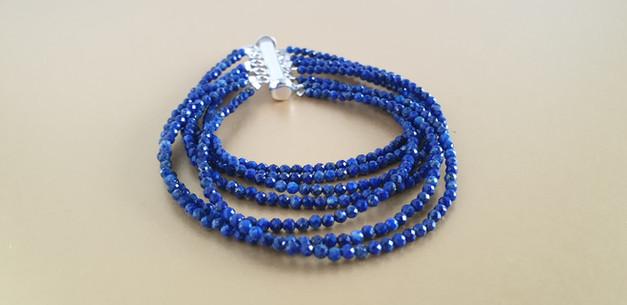 Manchette lapis-lazuli