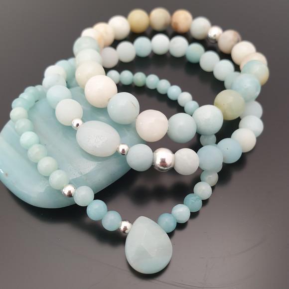 Bracelets amazonite