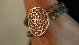 Bague pierres naturelles et argent. Atelier Sôma. Outils de lithothérapie, bijoux made in france fabriqués à la main.