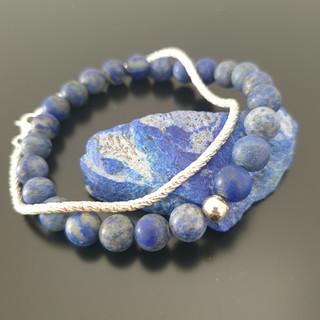Bracelet homme lapis-lazuli
