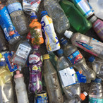 Refillable bottles can stop this.