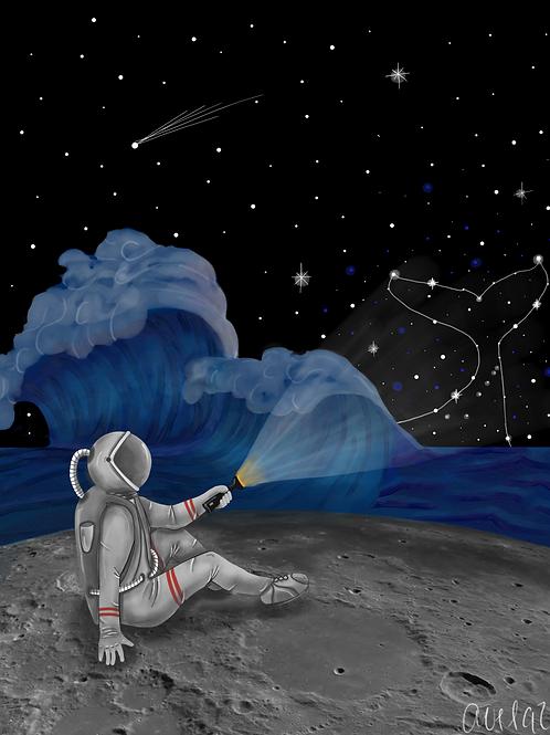 A la orilla de la luna