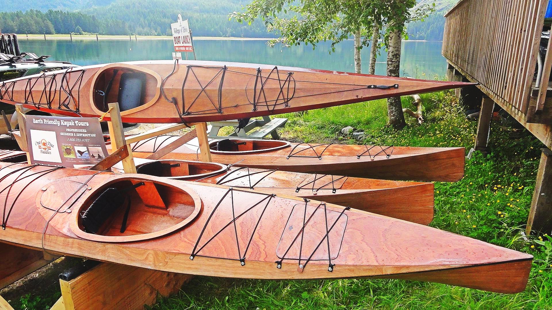 Handcrafted Kayaks Vancouver Island
